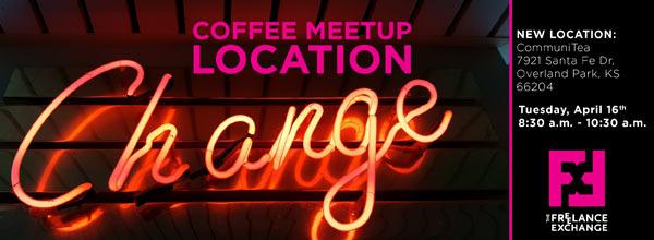 April 2019 Coffee Meetup banner